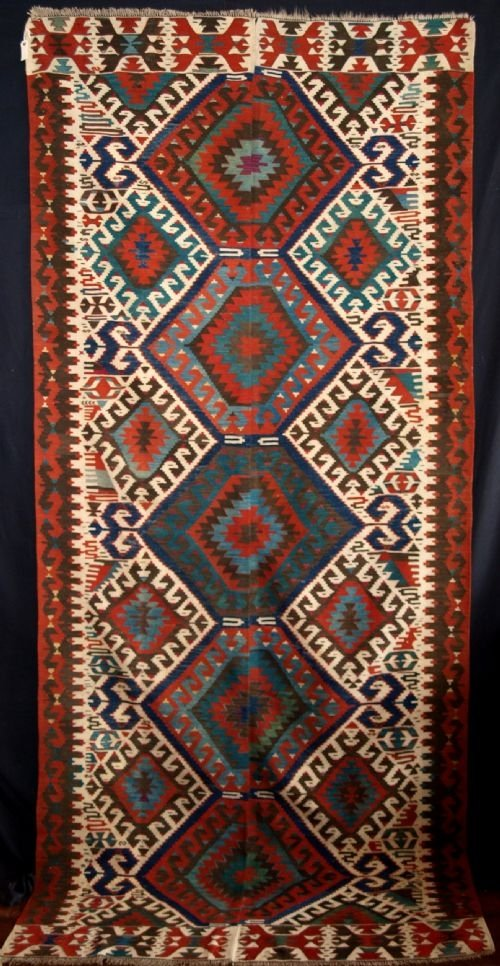 old turkish malatya kilim eastern anatolia circa 1930