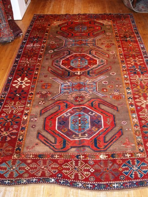antique caucasian lenkoran kelleh late 19th century