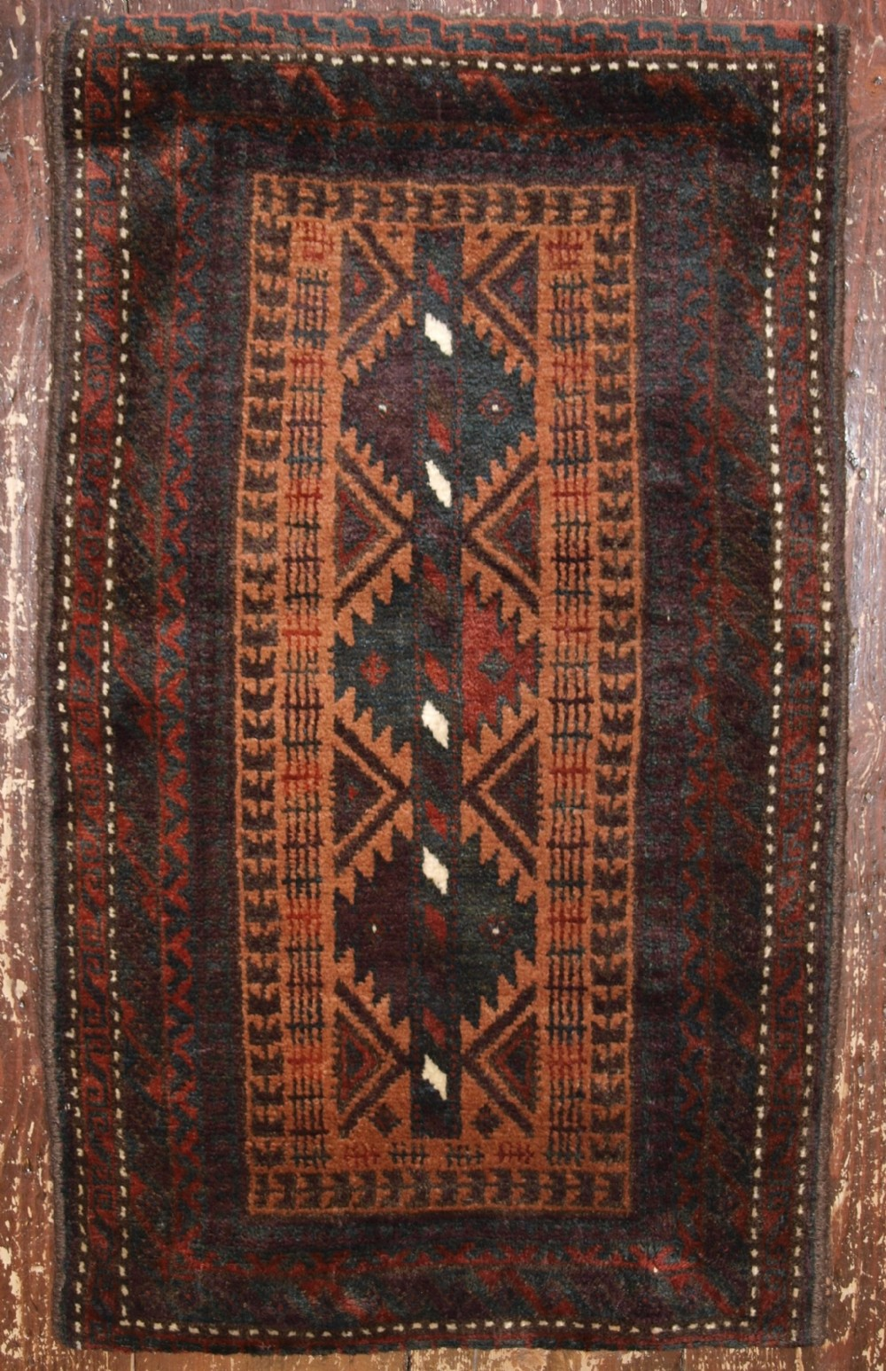old afghan baluch pushti pillow with tree of life design circa 1920