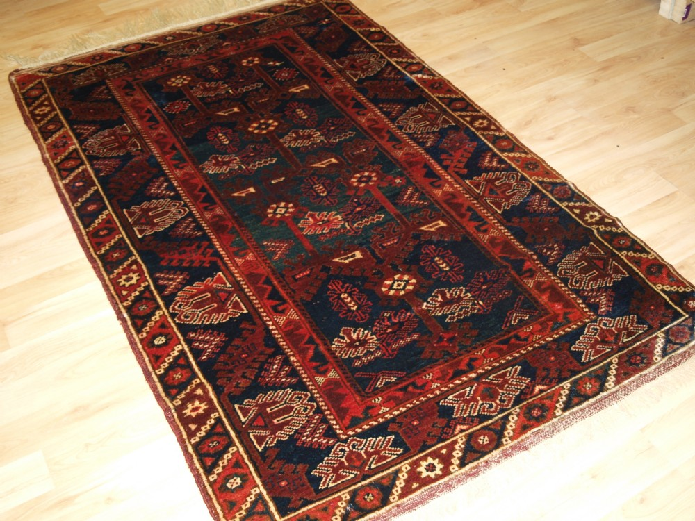 old turkish dosemealti rug of classic design superb green colour circa 1920