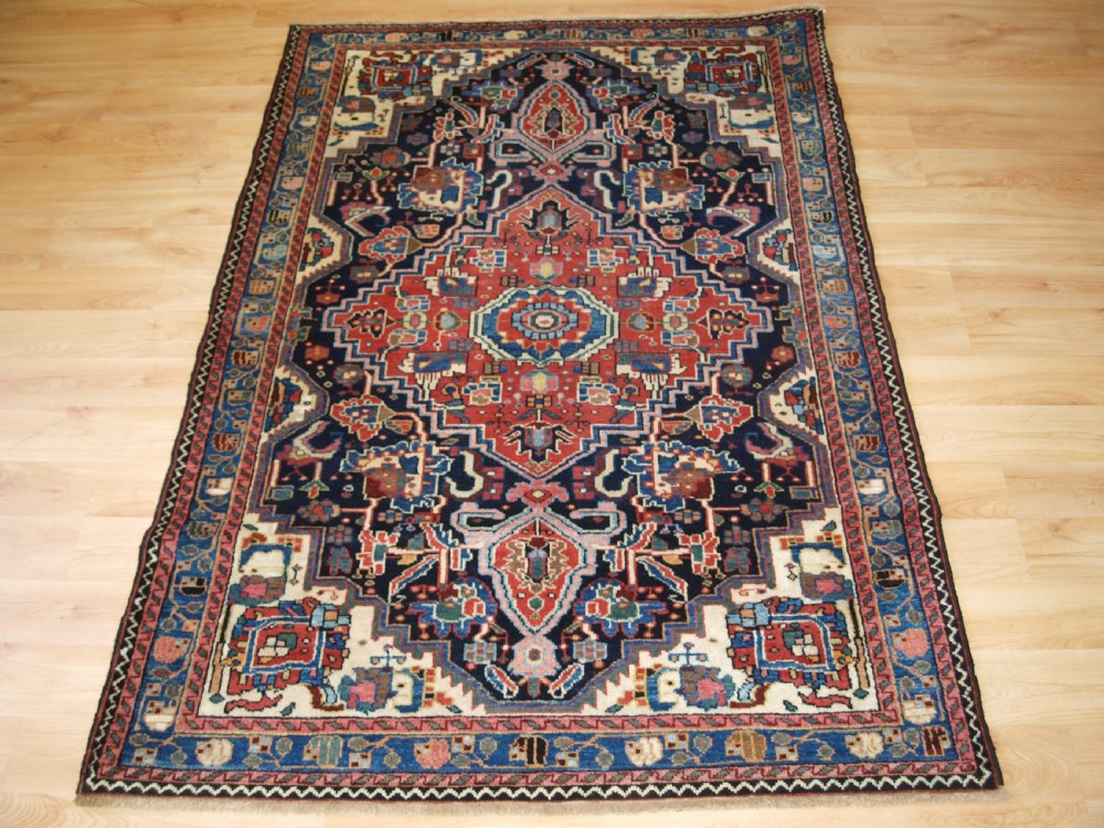 antique north west persian jozan village rug superb condition circa 1920