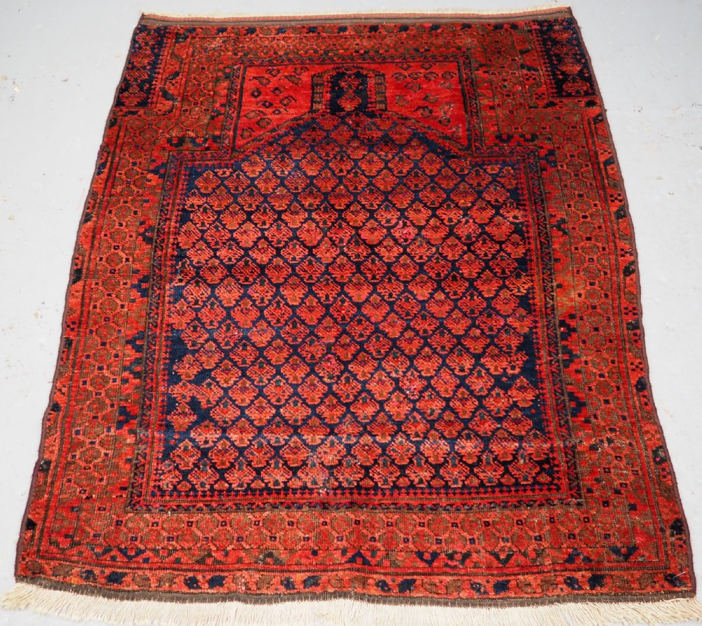 antique timuri dokhtareqazi prayer rug circa 1880